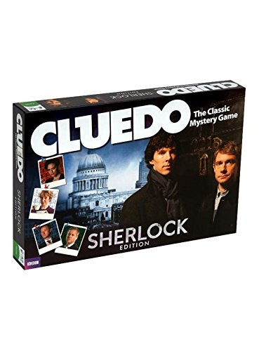 Cluedo gioco da tavolo Sherlock serie tv
