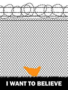 Orange is the new black poster chicken