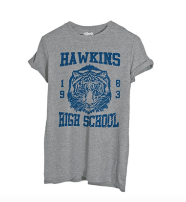 Thshirt Stranger Things Hawkins