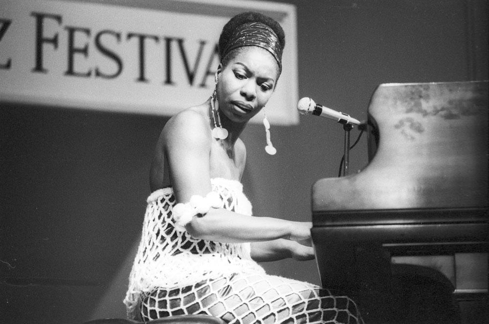 Nina Simone negli anni cinquanta. - Tom Copi, Michael Ochs