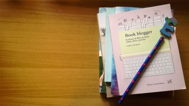 Book blogger di Giulia Ciarapica