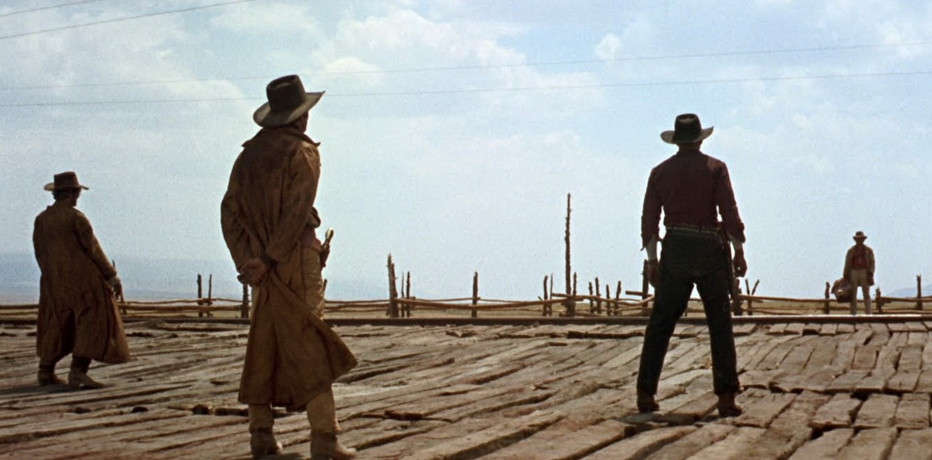 La scena iniziale di C'era una volta il West