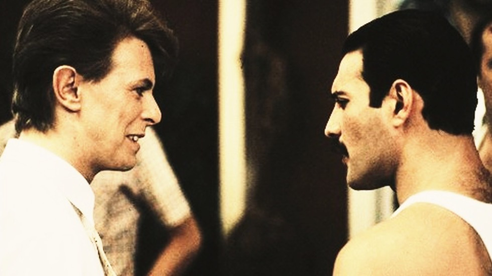 Freddie Mercury e David Bowie